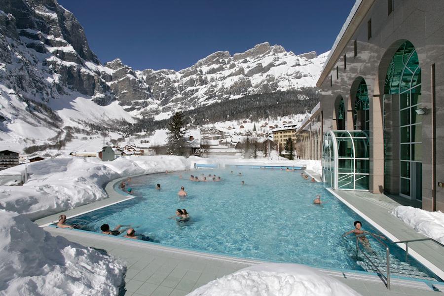 Линднер отель и термальный центр Альпентерм в Швейцарии
