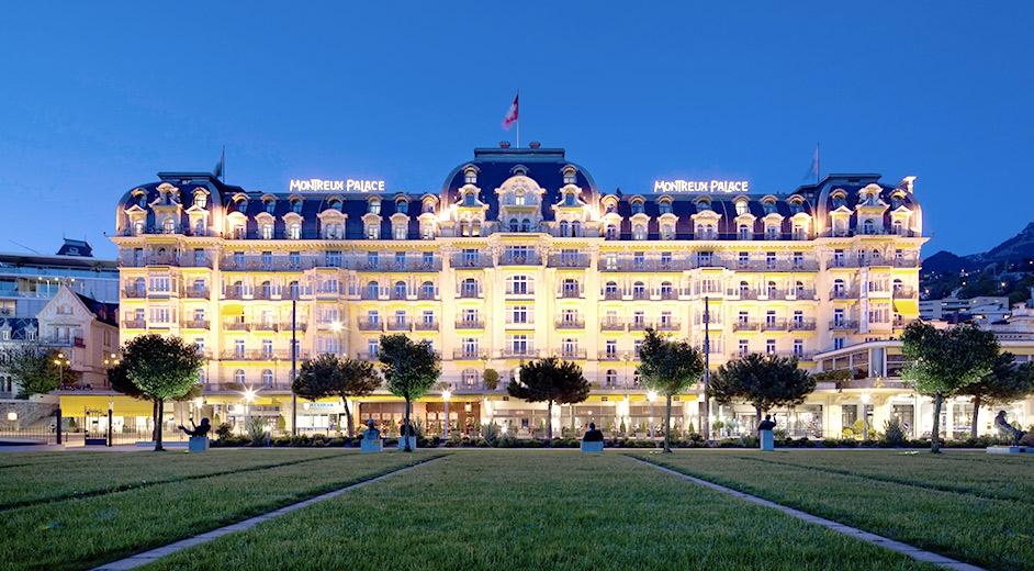 Отель Монтрё Палас в Швейцарии